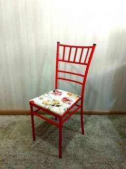 Cadeira Tiffany Vermelha