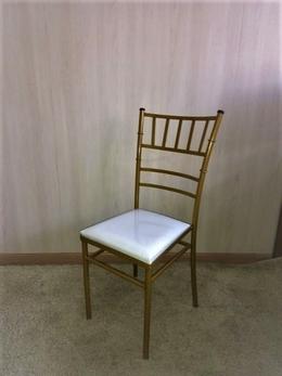 Cadeira de Ferro Tiffany Dourado Ouro