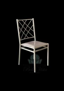 Cadeira de Ferro Empilhável Indiana